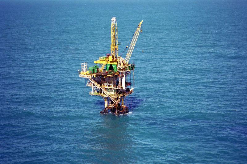 Plataforma da Petrobras no campo de Guaricema  (Agência Petrobras)