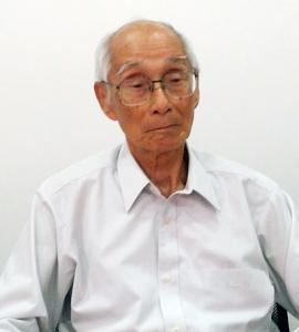 Engenheiro naval Nobuo Oguri (6/12/1925 – 27/11/2014).  Foto: Ivan Leão.