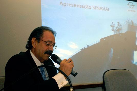 Ariovaldo Rocha, presidente do SINAVAL
