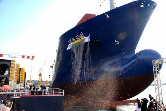 Log In Jatobá, segundo navio de uma série de sete