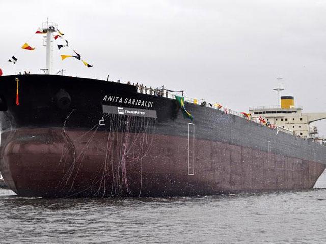 Petroleiro de 228 m de comprimento é capaz de carregar 650 mil barris. [Foto: Divulgação]