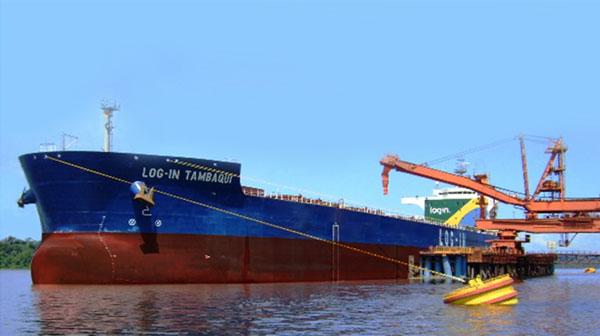 LOG-IN Tambaqui será dedicado ao transporte de minério de bauxita na Região Norte para   atender o contrato de 25 anos com a Alunorte. (Foto: Divulgação Log-IN)