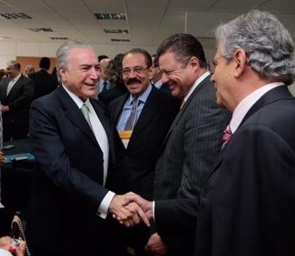 Temer Ariovaldo Rocha e Carlos Eduardo Macedo