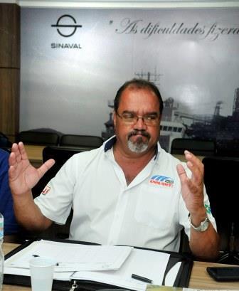 Edson Rocha, Secretário de Finanças da CNM/CUT e presidente do Sindicato dos Metalúrgicos de Niterói e Itaboraí